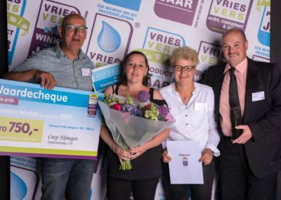 VVP winnaar winkel 700-1000 Nijmegen