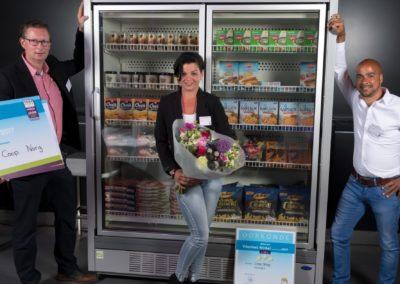 Als winnaar van de Carrier Velando C2-deurs diepvriesdeurenkast kwam Coop Norg uit de bus