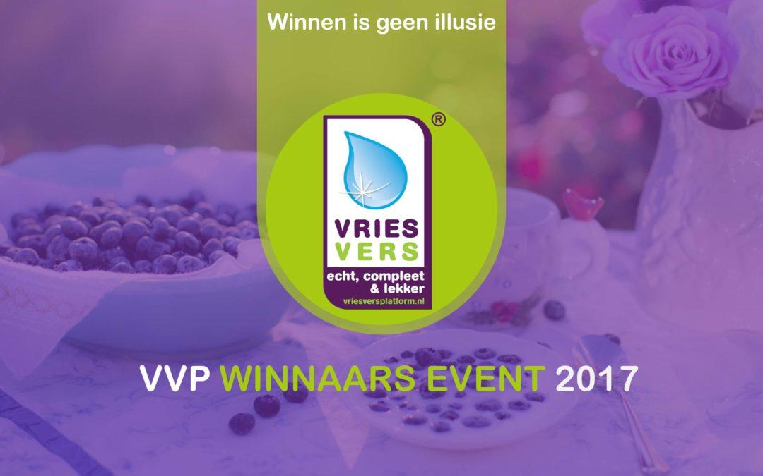 PERSBERICHT: Winnaars VriesVers Prijzen van het Jaar 2017