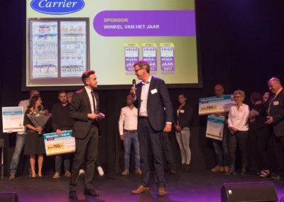 De winkelwedstrijd werd gesponsord door Carrier Refrigeration Benelux