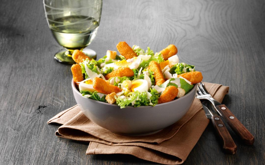 Salade kipfingers