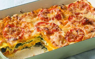 Pompoen Lasagna